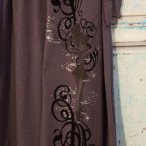 Disney Tinkerbell sleeveless women's dress XL